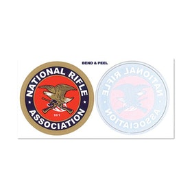NRA Annual inside/outside decal combo pack 2 pack
