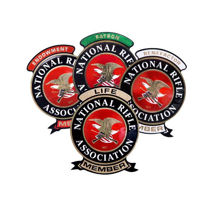 NRA member decals