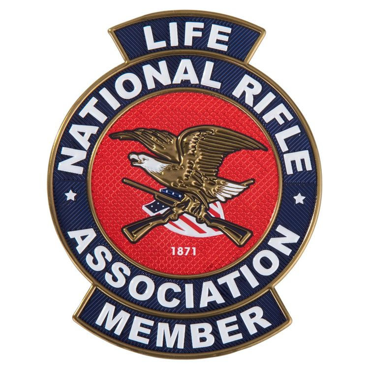 NRA Ultra-flex 3D emblems/decals
