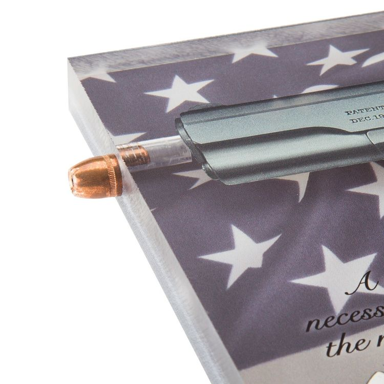 NRA 1911 3D Collectible bullet blockart