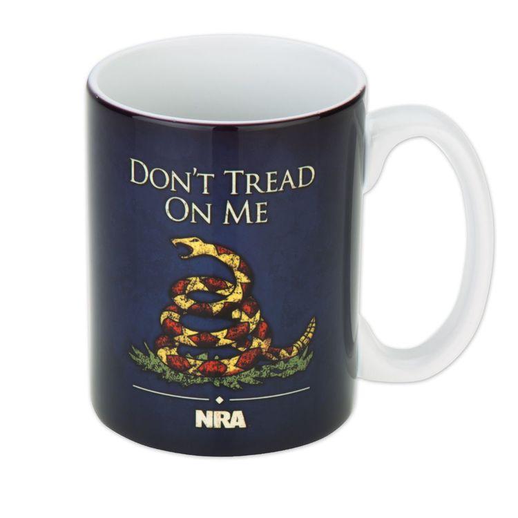 NRA Don't tread on me mug