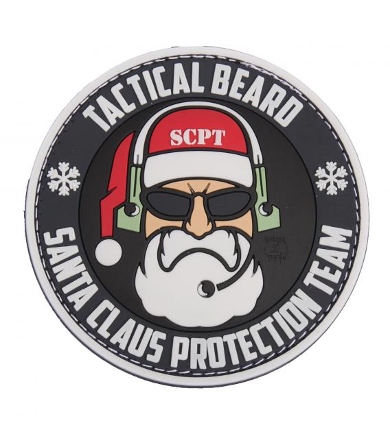 Santa Claus Protection Team Rubber Patch