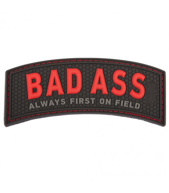 3D Rubber Bad Ass Tab Patch