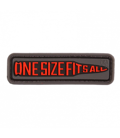 3D Rubber 7,62 One Size Fits All Patch