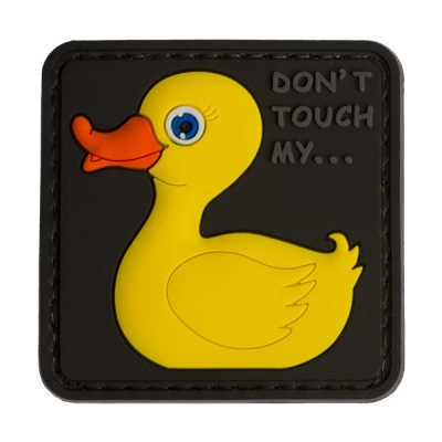 3D Rubber Tactical Rubber Duck Patch