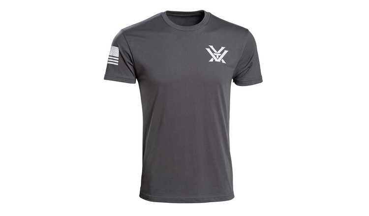 Vortex Optics Grey Patriot Tee