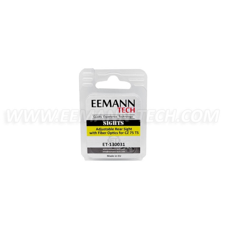 Eemann Tech - Adjustable rear sight for CZ 75 TS