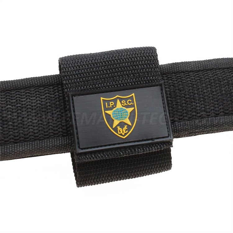 "IPSC Belt loop with ""IPSC shield"" logo"