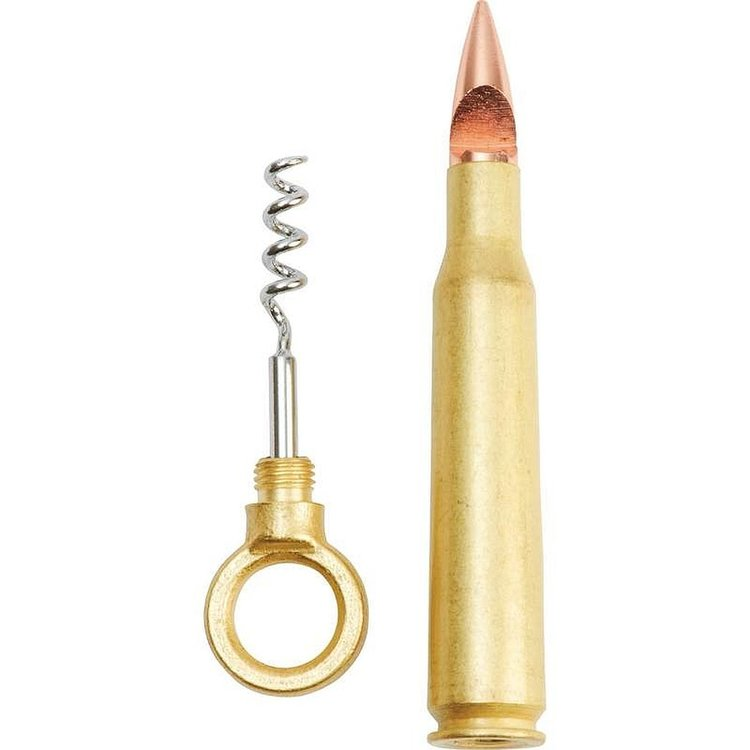Maxam® Bullet-Shaped Corkscrew and Bottle Opener
