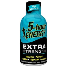 Blue Raspberry - Extra Strength