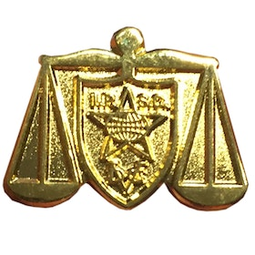 Range Officer Gold Pin