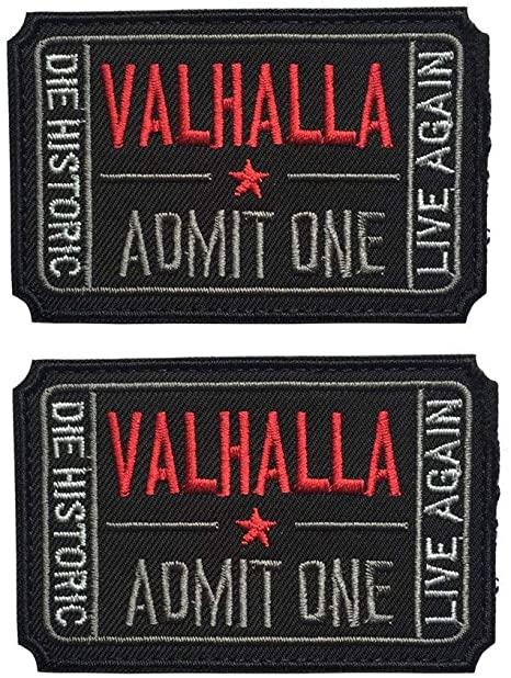 Valhalla Admit One - Patch