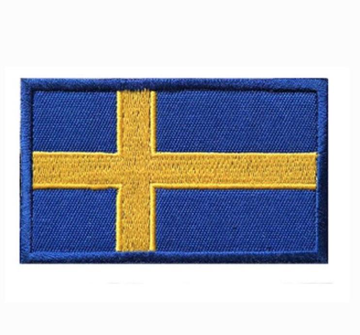 Sweden Flag Patch
