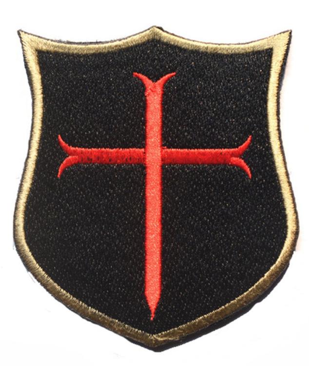 Cross crusader shield