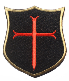 Cross crusader shield
