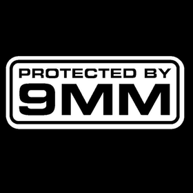 9mm Vinyl Decal Car Sticker