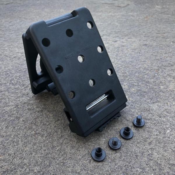 Techwell - PLM Attachment   Push Button Locking Mount