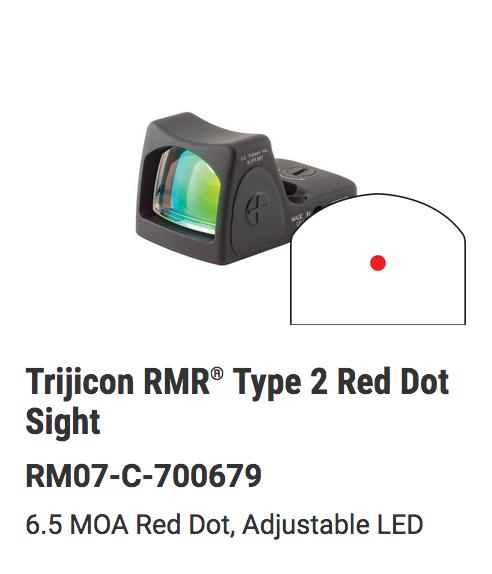 Trijicon - RMRcc