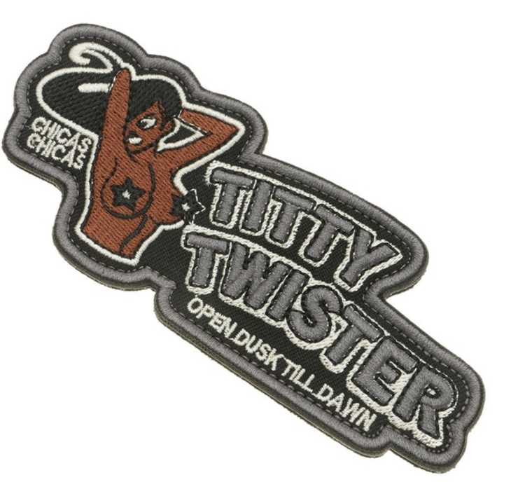 Titty Twister - Patch