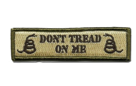 Dont tread on me - Patch