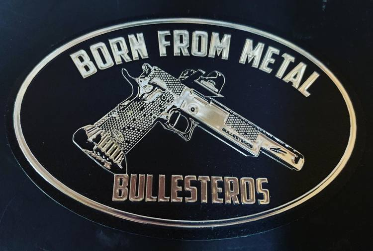 Born from metal - Bullesteros - Sticker