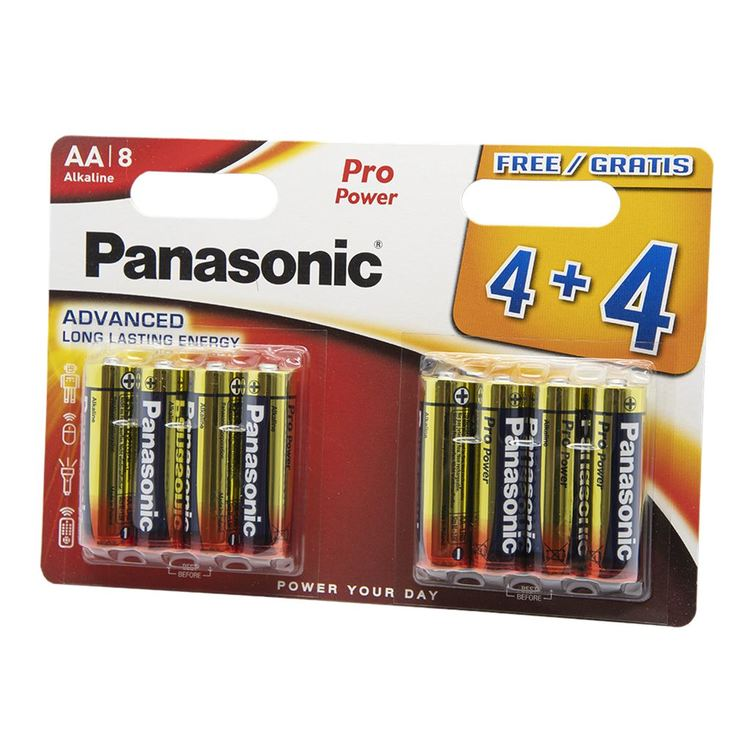 Panasonic Pro Power AA Batteri 8-pack