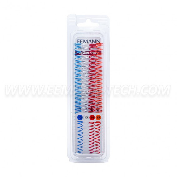 Eemann Tech - Recoil springs calibration pack standard major for 1911/2011