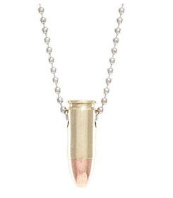 Lucky Shot - Once-Fired Bullet Necklaces