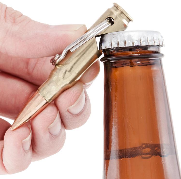 Lucky Shot - .308 Bullet Bottle Opener Keychain
