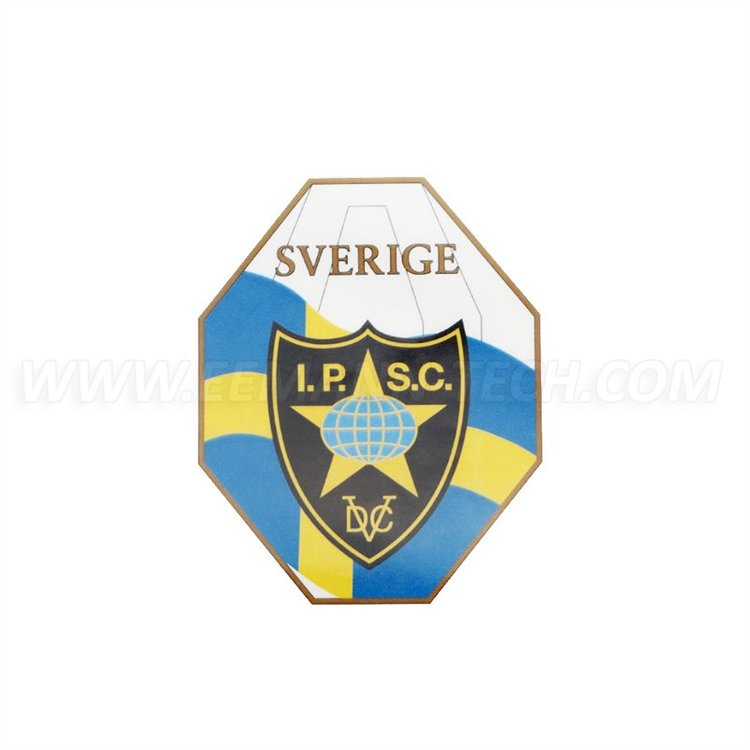 IPSC Sweden Mini - Sticker