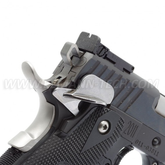 Eemann Tech - Competition Ambidextrous thumb safety with shield for 1911/2011