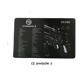 CZ shadow 2 Gun Cleaning Bench Mat