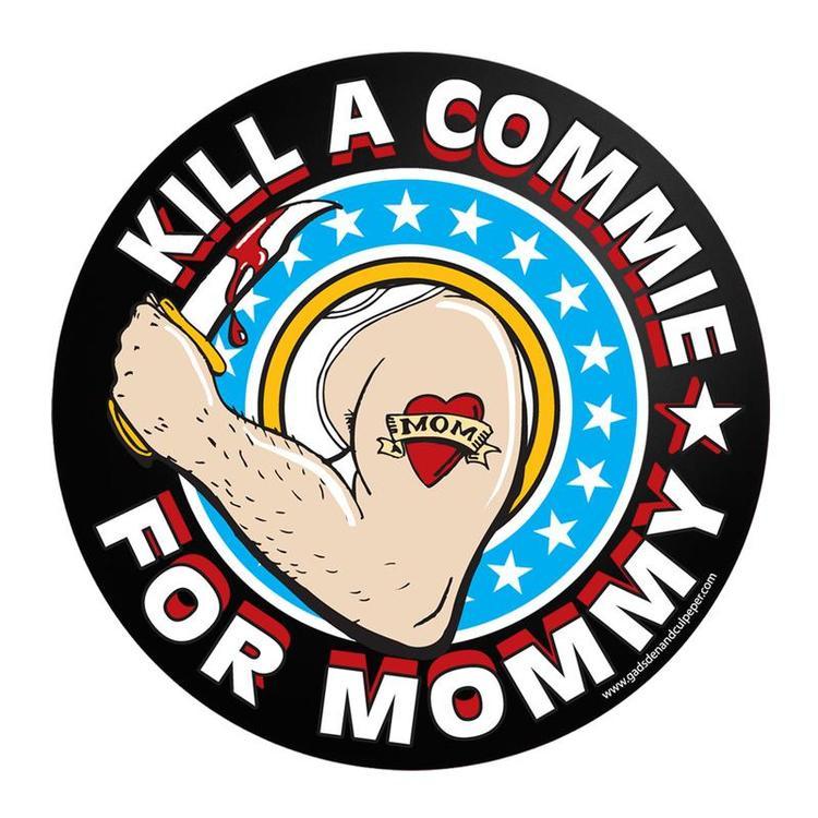 Commie Mommy Sticker - Sticker