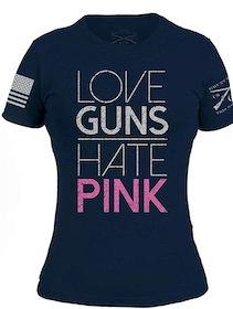 Grunt Style - Love Guns - Women's - T-Shirt