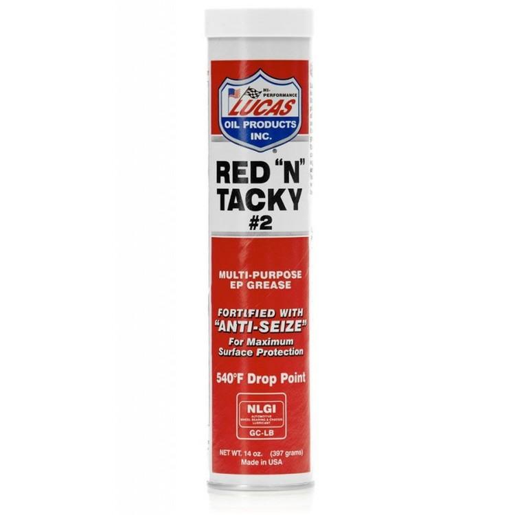 """Lucas Oils - Red """"N"""" Tacky Grease smörjfett NLGI 2"""