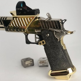 Boss - Brass Magwell 2011 STI Polished Gold - Boss Components