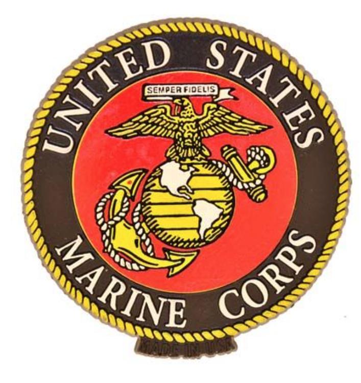 Eagle Emblem - Magnet - USMC Logo