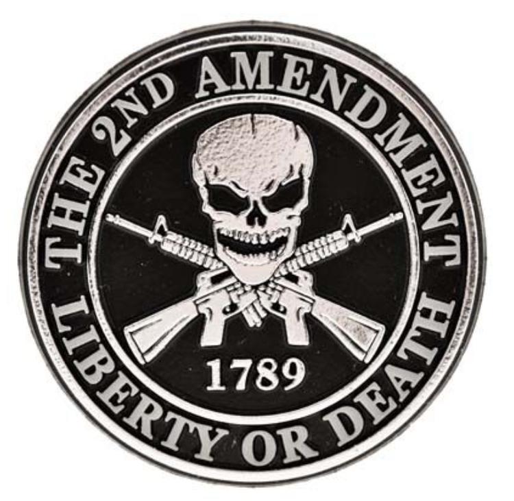 Eagle Emblem - Magnet - 2nd Amendment
