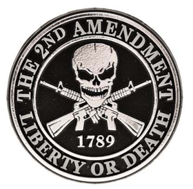 Eagle Emblem - Magnet - 2nd Amendment