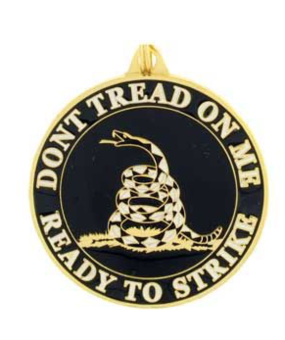 Eagle Emblem - Key ring - Dont tread on me