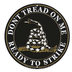 Eagle Emblem - Sign - Dont tread on me