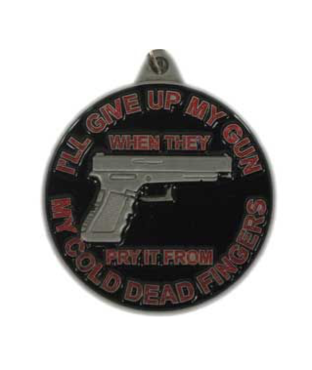 Eagle Emblem - Key ring - I'll give up my gun