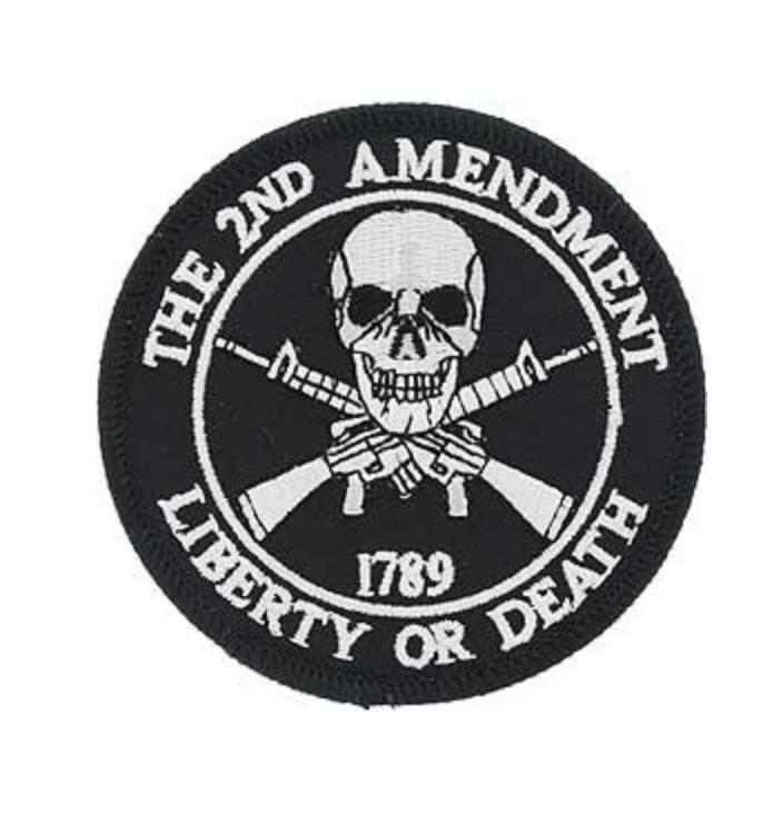 Eagle Emblem - 2nd Amendment - Patch