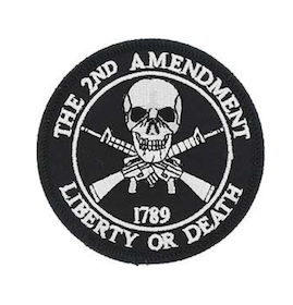 Eagle Emblem - 2nd Amendment - Patch