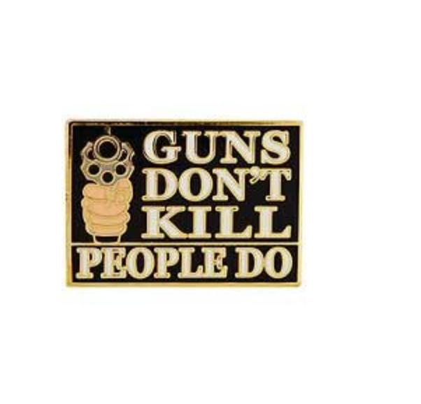 Eagle Emblem - Pin - Guns dont kill