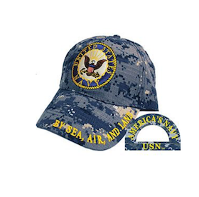 Eagle Emblem -  US Navy - Cap