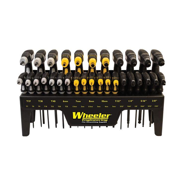 Wheeler - P-handle driver set
