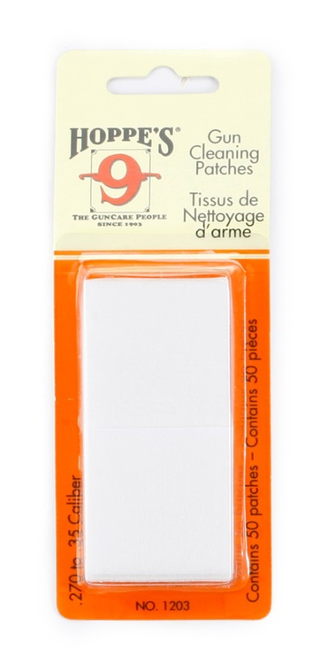 Hoppe's No. 9 - Gun Cleaning Patch, .270-.35