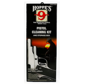 Hoppe's No. 9 - Cleaning Kit with Aluminum Rod.38/.357 Caliber, 9mm Pistol (Premium pack)