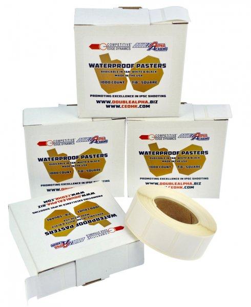 CED/DAA - Waterproof Target Pasters